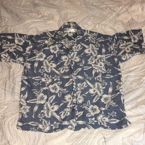 bill blass floral shirt